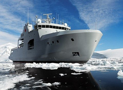 Arctic/Offshore Patrol Ships