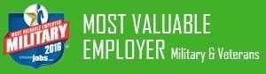 Most Valuable Employer Military & Veterans