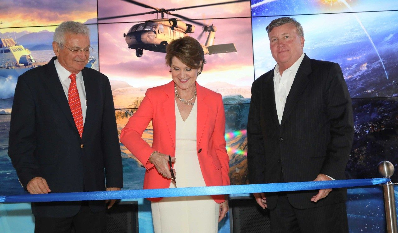 Marillyn Hewson, Chairman, President and CEO of Lockheed Martin Inaugurates the Lockheed Martin Israel Demonstration Center in Tel Aviv