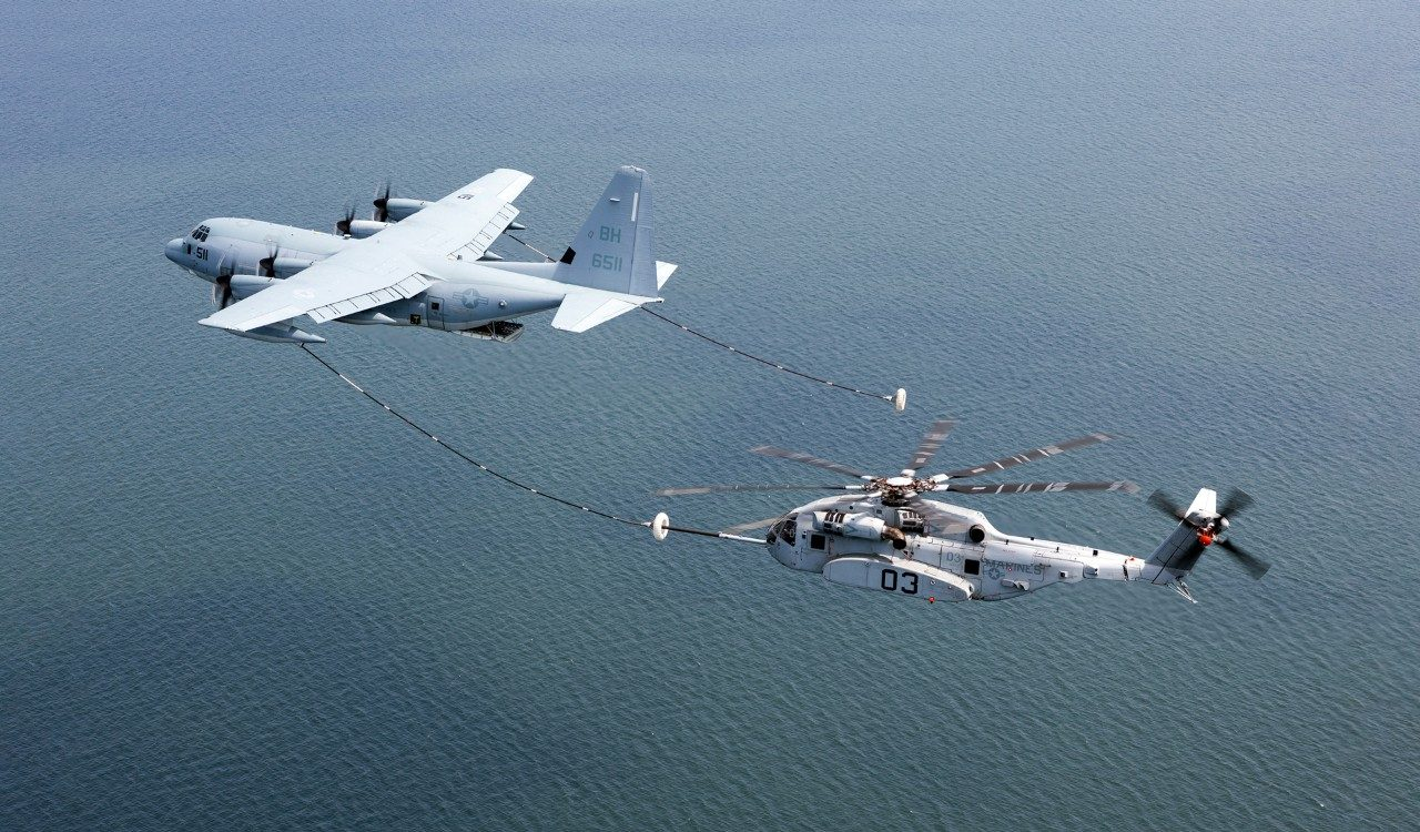 Hercules Helps Fuel Another CH-53K Milestone