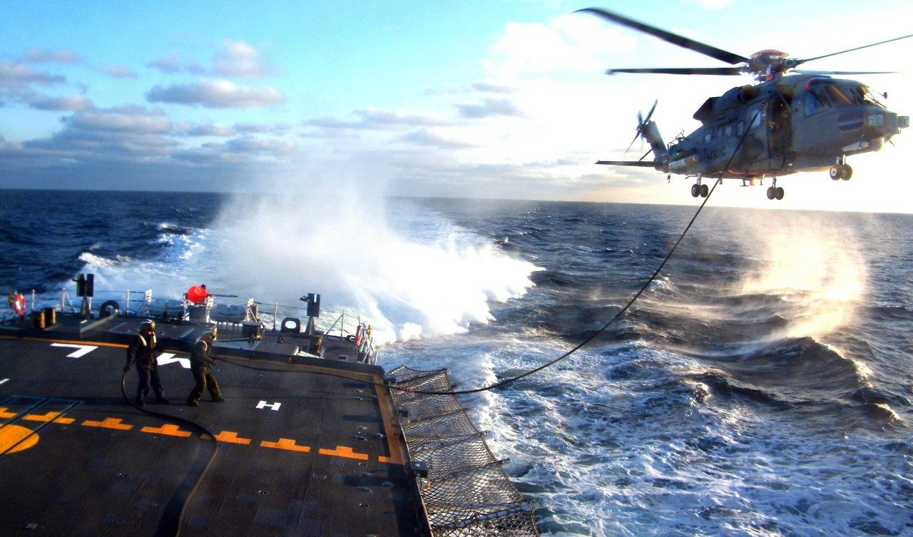 The Canadian government approved initial operational capability of the CH-148 Cyclone helicopter in June 2018.